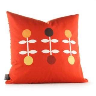Inhabit Aequorea Giggle Synthetic Pillow GIGCFxxP Size: 18 x 18, Color: Sca