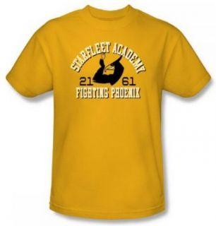 Star Trek SFA Fighting Phoenix Go Fleet Gold Adult Shirt CBS868 AT Clothing