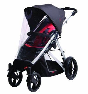 Phil&Teds Stormy Weather Cover For Vibe, Vibe 2 Or Verve Single Stroller  Baby Stroller Weather Hoods  Baby