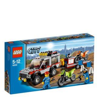 LEGO City Dirt Bike Transporter (4433)      Toys