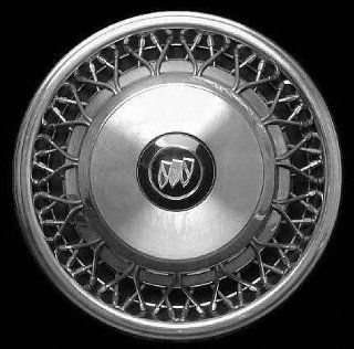 "93 96 BUICK REGAL COUPE WHEEL COVER HUBCAP HUB CAP 15 INCH, WIRE BRIGHT SILVER 15"" inch (center not included) (1993 93 1994 94 1995 95 1996 96) B261225 FWC01139U20: Automotive"