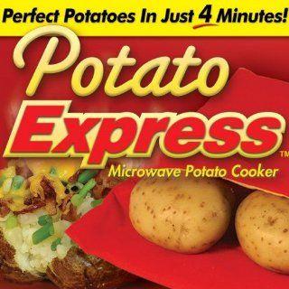 Potato Express Microwave Potato Cooker Kitchen & Dining