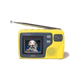"""Citizen America ST 855 2.2"""" Handheld Color TV and Radio: Electronics"""