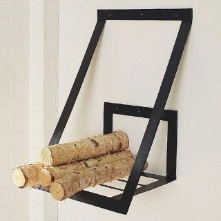 Firewood Rack, Vaughn Wall   Outdoor Firewood Racks