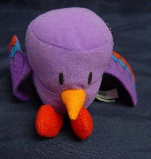 Sonic Plush Wacky Pack Archaeopteryx Tot Purple Bird 2011 C3: Everything Else