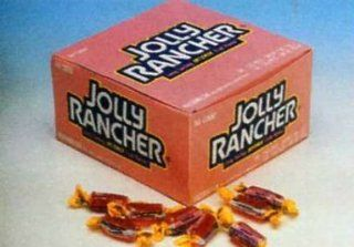 Jolly Rancher Twist   Watermelon, 160 count  Hard Candy  Grocery & Gourmet Food