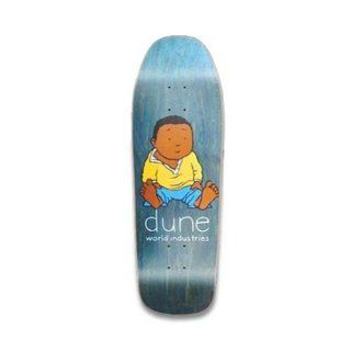 WORLD INDUSTRIES Skateboard Deck DUNE BABYSITTING Re Issue BLACK 8.875 : Sports & Outdoors
