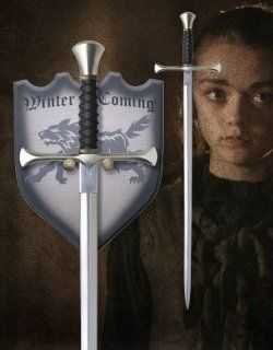 "Needle, Sword of Arya Stark. Licensed from George R.R. Martin's ""A Song of Ice and Fire."" : Martial Arts Swords : Sports & Outdoors"