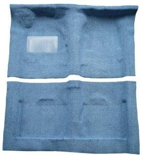 1982 to 1993 Chevrolet S10 Extended Cab Pickup Truck Carpet Replacement Kit, 2 Wheel Drive (875 Ruby Cut Pile) Automotive