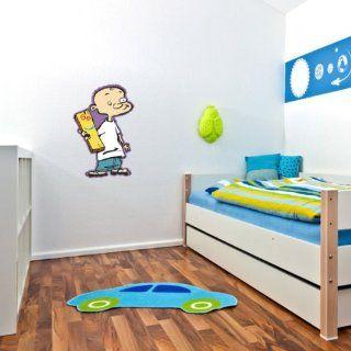 "Ed, Edd n Eddy   Jonny and Plank Wall Graphic Decal Sticker 25"" x 16""   Wall Decor Stickers"