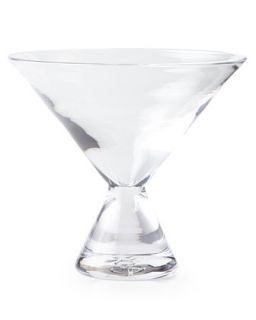 Geo Stemless Martini Glass   Simon Pearce
