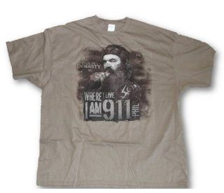 Duck Dynasty Tee, Mens Phil 'I Am 9 1 1 Redneck Tough Guy 911 T Shirt L 3XL (Large) : Sports Fan T Shirts : Sports & Outdoors