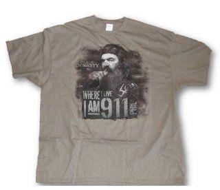 Duck Dynasty Tee, Mens Phil 'I Am 9 1 1 Redneck Tough Guy 911 T Shirt L 3XL (Large) : Sports Fan T Shirts : Sports & Outdoors