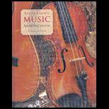 Music : Appreciation   With 5 Brief CDs