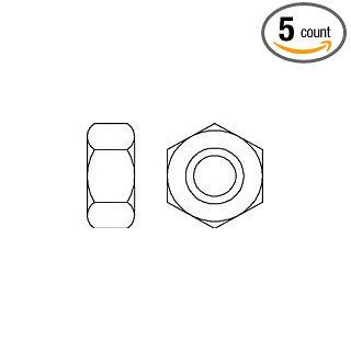 (5pcs) Metric DIN 936 M36X3 Low Hex Jam Nut 17 H Steel (May be supplied in 17 H, 22 H, or 04 Steel at manufacturers' discretion.) Ships Free in USA Industrial & Scientific
