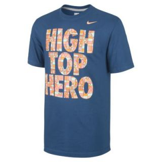 Nike High Top Hero Mens T Shirt   Space Blue