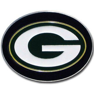 NFL Green Bay Packers Logo Buckle : Belt Buckles : Sports & Outdoors