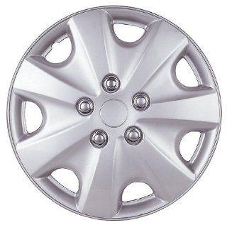 """Drive Accessories KT 957 14S/L, Honda Accord, 14"""" Silver Lacquer Replica Wheel Cover, (Set of 4): Automotive"""