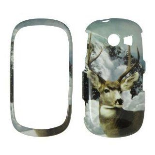 SAMSUNG Flight II A927 AT&T WILD SNOW BUCK DEER Real tree camo Snap on Hard Case, Cover, Snap On, Faceplate: Cell Phones & Accessories