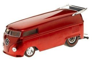 Hot Wheels Classics Customized VW Drag B red: Toys & Games