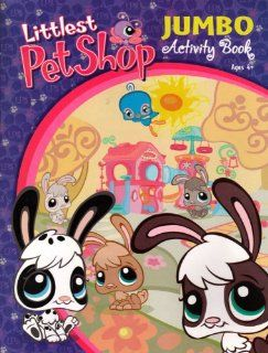 Littlest Pet Shop Jumbo Activity Book ~ Bunnies: Toys & Games