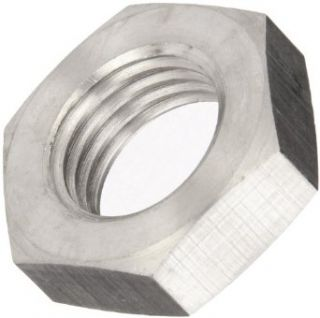 Metric DIN 934 Plain 18 8 Stainless Steel Hex Nut, M3 0.5 Thread Size, 5.5 mm Width Across Flats, 2.4 mm Thick (Pack of 100) Industrial & Scientific