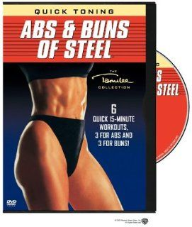 Quick Toning: Abs & Buns of Steel: Tamilee Webb: Movies & TV