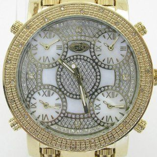 Mens Grand Master Five Time Zone Jet Bling Jacob Co Diamond Watch GM5 5Y Watches
