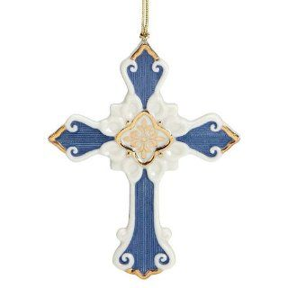 Lenox Christmas First Blessing Nativity Ornament Cross Kitchen & Dining