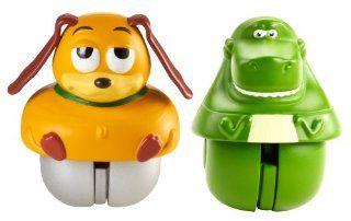 Disney Pixar Toy Story Zing'Ems   Rex & Slinky Dog 2 pack Toys & Games