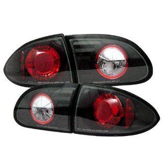 Chevy Cavalier 1995 96 97 98 99 2000 01 02 Altezza Tail Lights   Black Automotive