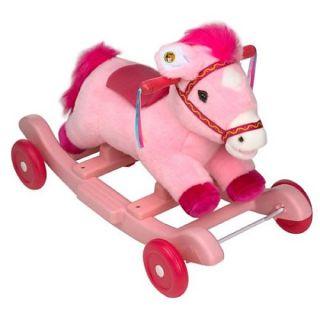 Kiddieland Pink Rocking Horse      Toys