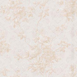 Mirage 988 44448 Jacinthe Damask Floral Trail Wallpaper, Taupe