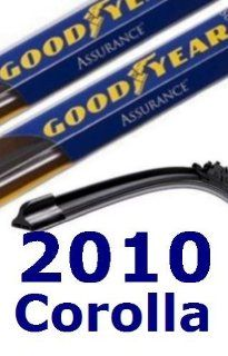 2010 Toyota Corolla Replacement Windshield Wiper (2 Blades): Automotive