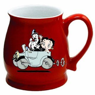 Betty Boop Vintage Style Coffee Tea Mug Soup Cup: Kitchen & Dining