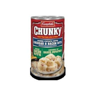 Campbell's Chunky Baked Potato with Cheddar & Bacon Bits Soup 18.8 oz...