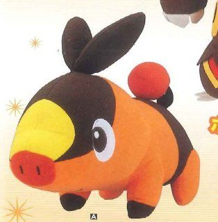 "Pokemon Best Wishes! Super DX Plush (8"") Evolution ver.   Tepig (Pokabu)   Imported from Japan.: Toys & Games"