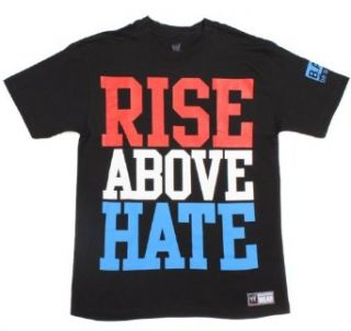 WWE John Cena Rise Above Hate Authentic T Shirt Size : Small: Clothing