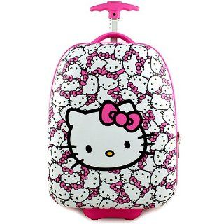 Hello Kitty Hardshell Rolling Luggage Case [Pink] Toys & Games