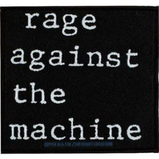 Rage Against The Machine   Unisex adult Rage Against The Machine   Logo Patch Clothing