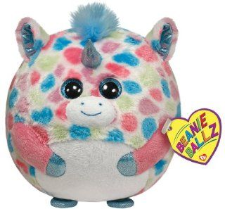 Ty Beanie Ballz Fable Unicorn Plush, Large: Toys & Games