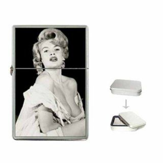 JAYNE MANSFIELD SEXY HOT ALMOST TOPLESS NEW Flip Top Lighter With Gift Tin : Other Products : Everything Else