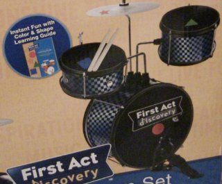 First Act Discovery Drum Set Learning System: Toys & Games