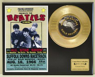 "BEATLES Limited Edition Gold 45 Record Display with voice module that actually plays ""Let It Be"" and laser etched lyrics on 45. Limited quanities. FREE US SHIPPING"