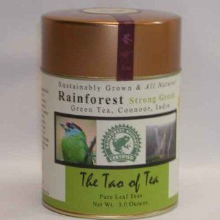 Rainforest Strong Green Tea : Grocery & Gourmet Food