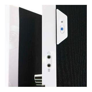Arion Legacy AR204B WH Desktop Bluetooth Speaker with Headphone/Microphone Inputs & Wall Mount Brackets   50Watts Electronics
