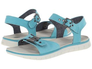 Dr. Scholls Becca Womens Shoes (Blue)