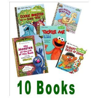 Sesame Street Collection Muppet Babies, Be Nice; Big Bird's Busy Day Another Monster At the End of This Book; Tickle Me, I'm Elmo; Look, Elmo's Walking First Steps; Puppy Love (Storybook Collection Little Golden Books) Robin McKinley, Diana