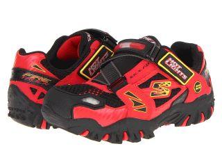SKECHERS KIDS Damager   Fire Truck Lights 90347L Boys Shoes (Red)