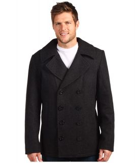 Alpha Industries USN Pea Coat Mens Coat (Gray)